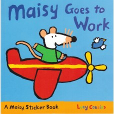 Maisy Goes to Work Stickerbook (Paperback)