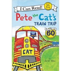 Pete the Cat's Train Trip (Paperback)