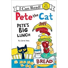 Pete the Cat: Pete's Big Lunch (Paperback)