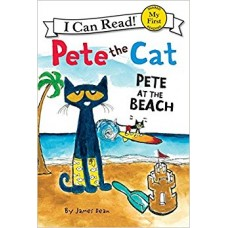 Pete the Cat: Pete at the Beach (Paperback)