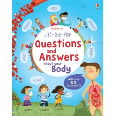 Lift-the-Flap Questions & Answers about your body (Board)