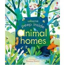 Peep Inside Animal Homes (Board)