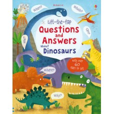 Lift-the-Flap Questions & Answers About Dinosaurs (Board)