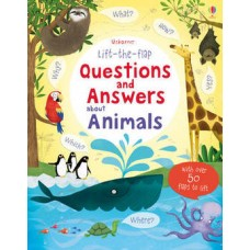 Lift-the-Flap Questions & Answers About Animals (Board)