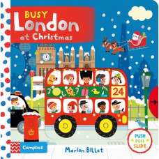 Busy London at Christmas (Board)