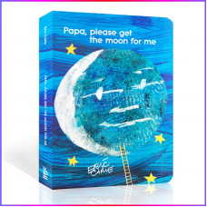 Papa, Please Get the Moon for Me (Board Book) Уценка!