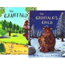 The Gruffalo + The Gruffalo's Child (Paperback) Julia Donaldson