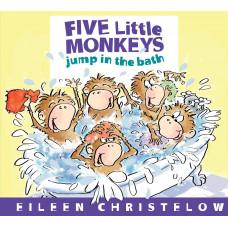 Five Little Monkeys Jump in the Bath (Paperback)