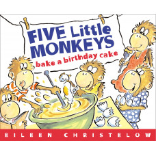 Five Little Monkeys Bake a Birthday Cake (Paperback)