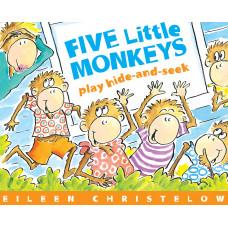 Five Little Monkeys Play Hide and Seek (Paperback)
