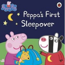 Peppa Pig: Peppa's First Sleepover (Paperback)