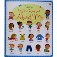 My first word book about me (Board) Уценка!