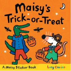 Maisy's Trick-or-Treat Stickerbook (Paperback)
