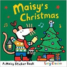 Maisy's Christmas Stickerbook (Paperback)