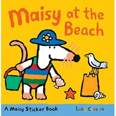 Maisy at the Beach Stickerbook (Paperback)