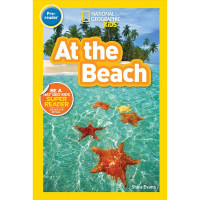 At the Beach (Paperback) NGKids