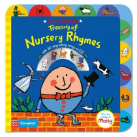 Treasury of Nursery Rhymes (board) Book and CD Уценка!