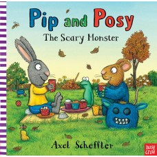 Pip and Posy: The Scary Monster (Paperback)