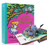 Alice's Adventures in Wonderland (Pop-Up) Illustrated by Robert Sabuda