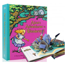 Alice's Adventures in Wonderland (Pop-Up) Illustrated by Robert Sabuda
