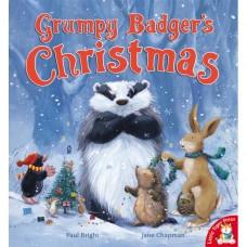 Grumpy Badger's Christmas (Paperback) Paul Bright & Jane Chapman