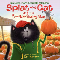 Splat the Cat and the Pumpkin-Picking Plan (Paperback)