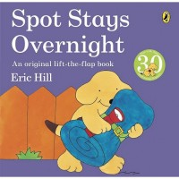 Spot Stays Overnight (Paperback) Уценка!