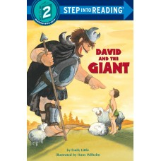 David and the Giant (Paperback) Step into Reading 2