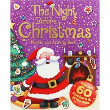 The Night Before Christmas - Sticker And Activity Book (Paperback)