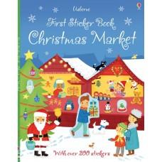First Stiker Book Christmas market (Paperback)