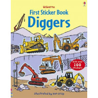 First Sticker Book Diggers (Paperback)