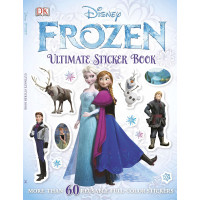 Ultimate Sticker Book: Frozen (paperback)