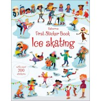 First Stiker Book Ice skating (Paperback)