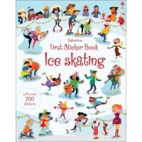 First Stiker Book Ice skating (Paperback)