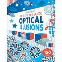 First Sticker Book Optical Illusions (Paperback)