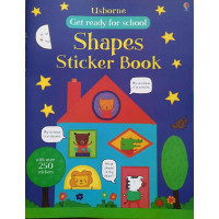 Get ready for school shapes sticker book (Paperback)