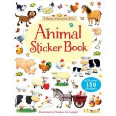Animals sticker book (Paperback)