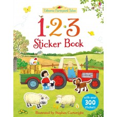 123 sticker book (Paperback)