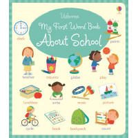 My first word book about school (Board)