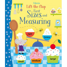 Lift-the-flap first sizes and measuring (Board)