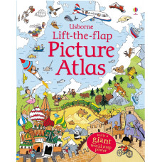 Lift-the-flap Picture Atlas (Board)