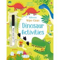 Wipe-clean dinosaur activities (Paperback)