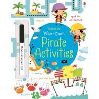 Wipe-clean pirate activities (Paperback)