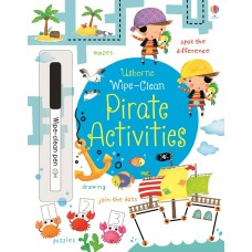 Wipe-clean pirate activities (Paperback)