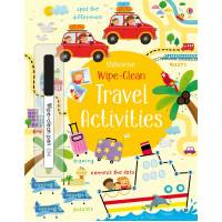 Wipe-clean travel activities (Paperback)