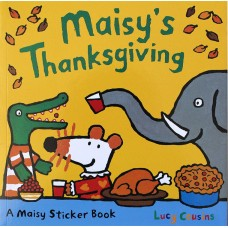 Maisy's Thanksgiving Stickerbook (Paperback)