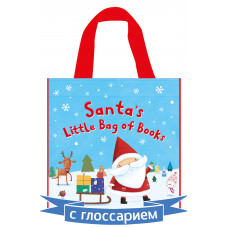 Santa's Little Bag of Books (4 Board books)