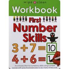 Workbook: First Number Skills (Paperback) Wipe-Clean