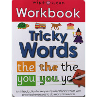 Workbook: Tricky Words (Paperback) Wipe-Clean