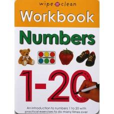 Workbook: Numbers (Paperback) Wipe-Clean